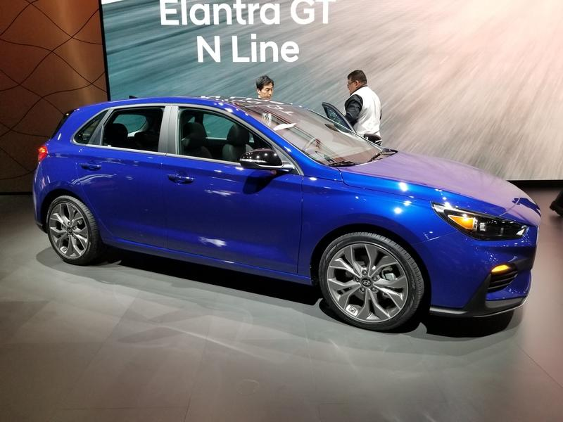 2019 Hyundai Elantra GT N-line is the first N-Line model in the U.S.