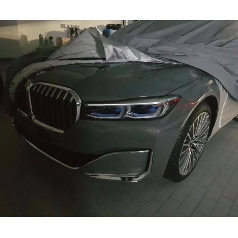 If This Leak Shows the 2019 BMW 7 Series Facelift, It Looks a Lot Like the 2014 BMW Vision Future Concept - image 812737