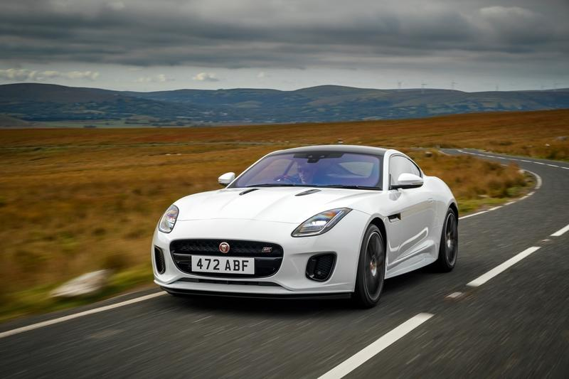 2019 Jaguar F-TYPE Checkered Flag Limited Edition Coupe