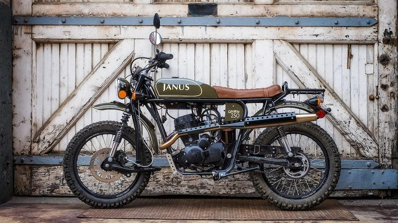 Janus Motorcycles Features Quintessential Vintage Styling in a Trio of 220 cc Bikes