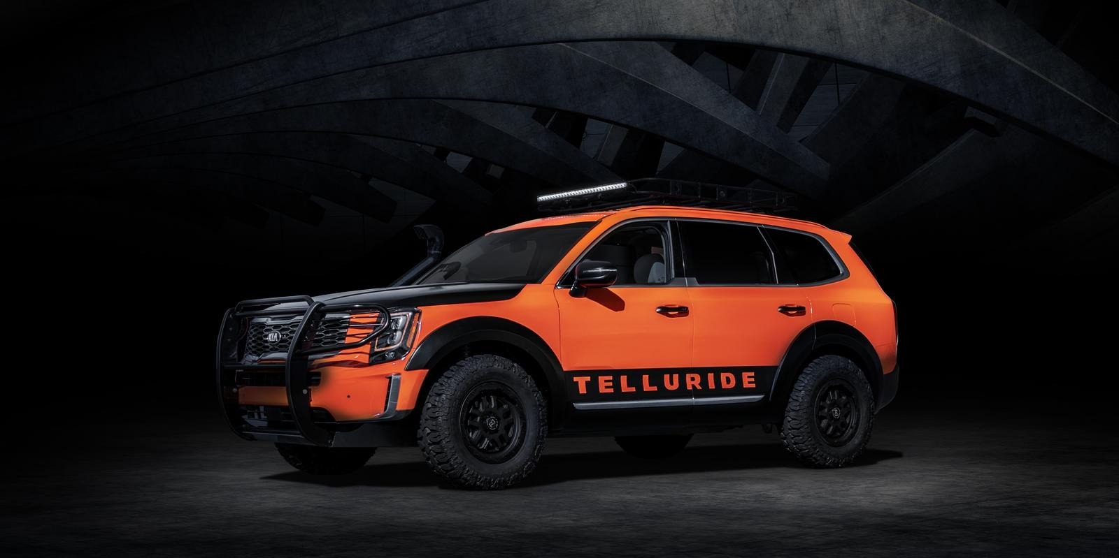 Honda Pilot Accessories >> Kia Could Leverage The 2020 Telluride With SEMA-Inspired Accessories But It Could Go A Step ...