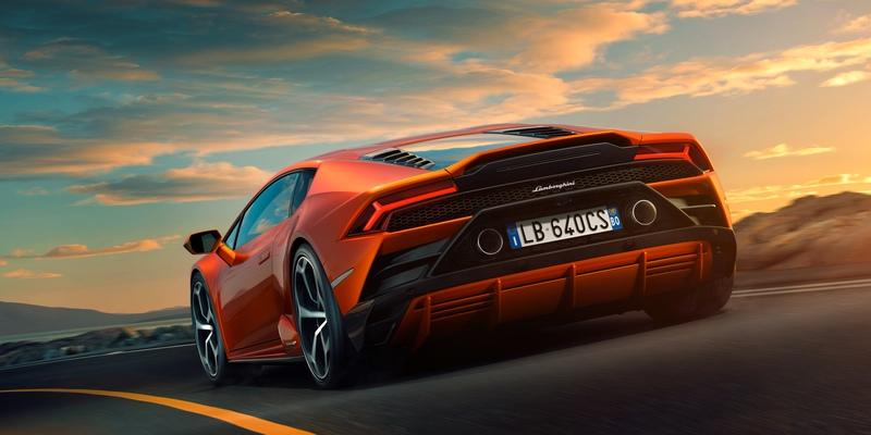 2019 Lamborghini Huracan Evo Top Speed