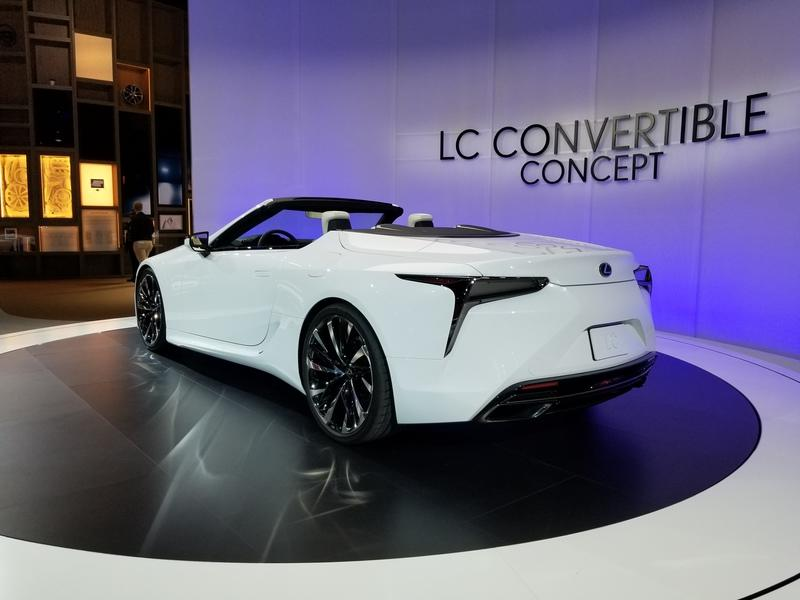 Lexus LC Debuts At The 2019 Detroit Auto Show In A Topless Avatar Exterior - image 815659