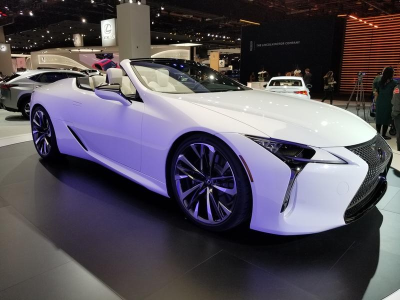 Lexus LC Debuts At The 2019 Detroit Auto Show In A Topless Avatar Exterior - image 815665