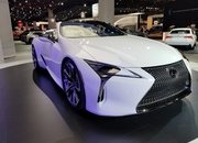 Lexus LC Debuts At The 2019 Detroit Auto Show In A Topless Avatar - image 815649