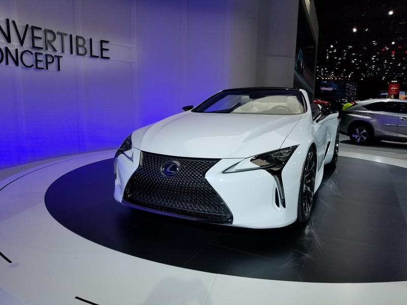 Lexus LC Debuts At The 2019 Detroit Auto Show In A Topless Avatar Exterior - image 815651