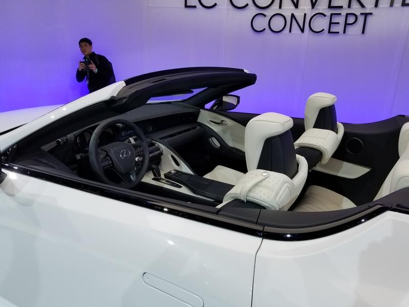 Lexus LC Debuts At The 2019 Detroit Auto Show In A Topless Avatar Exterior - image 815653
