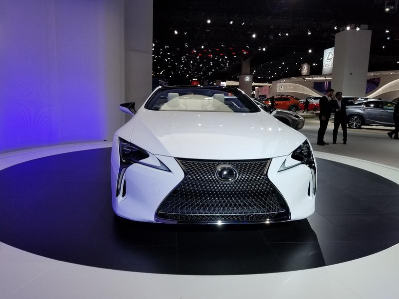 Lexus LC Debuts At The 2019 Detroit Auto Show In A Topless Avatar Exterior - image 815648