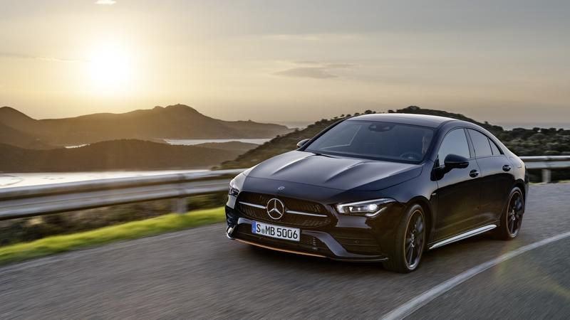 Mercedes-Benz Debuts the 2020 CLA Class At CES With Fresh Tech Exterior - image 813056