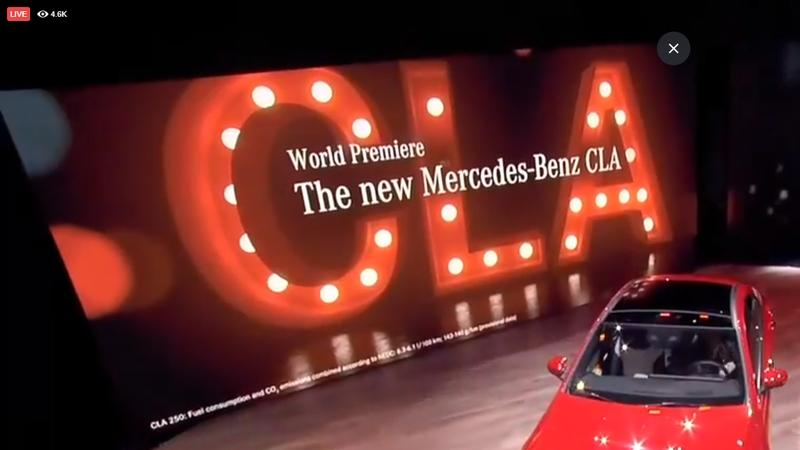 Mercedes-Benz Debuts the 2020 CLA Class At CES With Fresh Tech