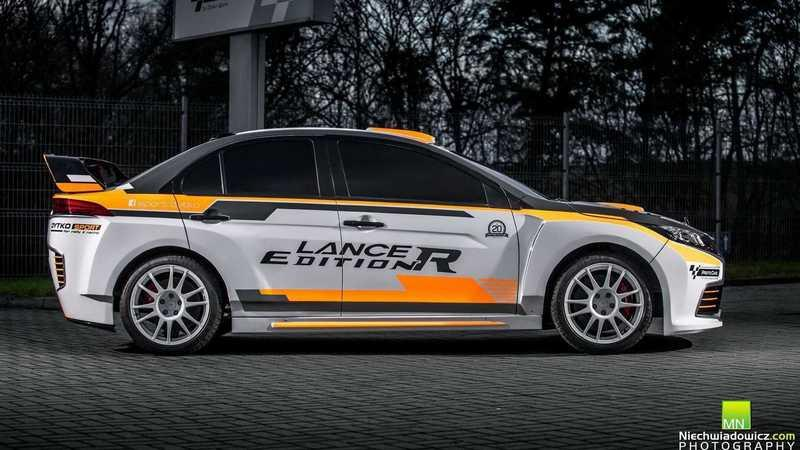 2019 Mitsubishi Lancer Edition R by Dytko and Proto Cars