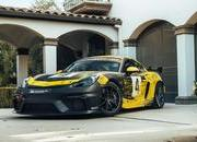 The 2019 Porsche 718 Cayman GT4 Clubsport is Here and the German Competition Should be Scared - image 812431