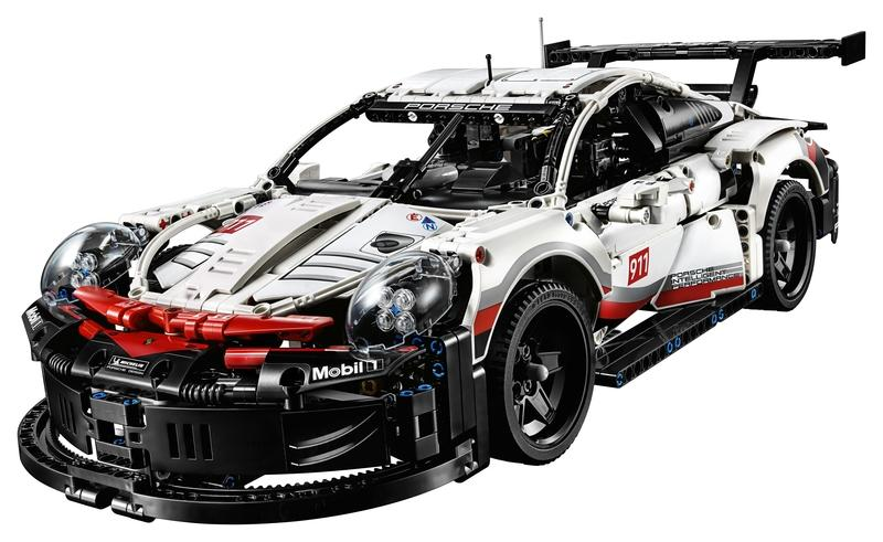 Save Your Marriage and Get Your Husband This Lego Technic Porsche 911 RSR as a Late Christmas Present - image 812278