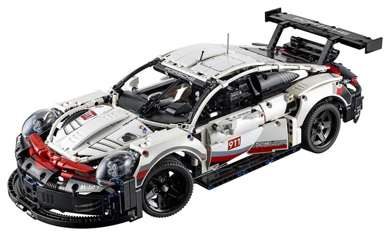 Save Your Marriage and Get Your Husband This Lego Technic Porsche 911 RSR as a Late Christmas Present - image 812279