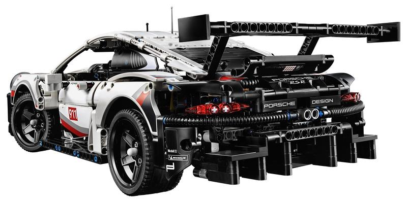 Save Your Marriage and Get Your Husband This Lego Technic Porsche 911 RSR as a Late Christmas Present