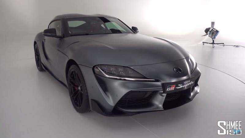 Shmee Does a Walkaround On the 2020 Toyota Supra GR: Video