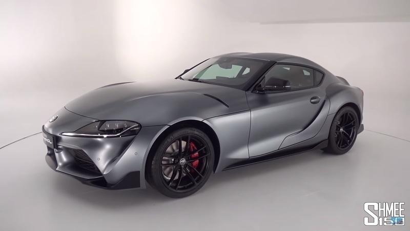 Shmee Does a Walkaround On the 2020 Toyota Supra GR: Video - image 816783