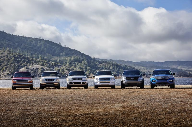 Six Generations of the Ford Explorer