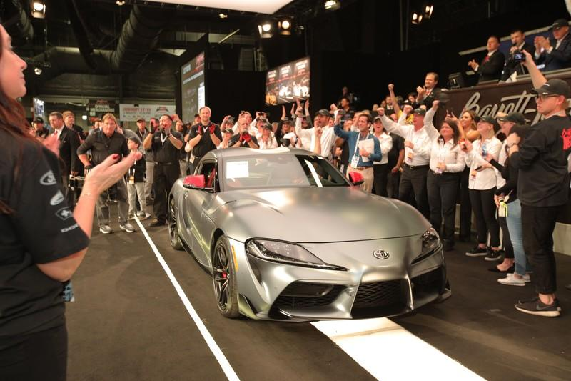 Someone Paid $2.1 Million To Score the First-Production Toyota Supra