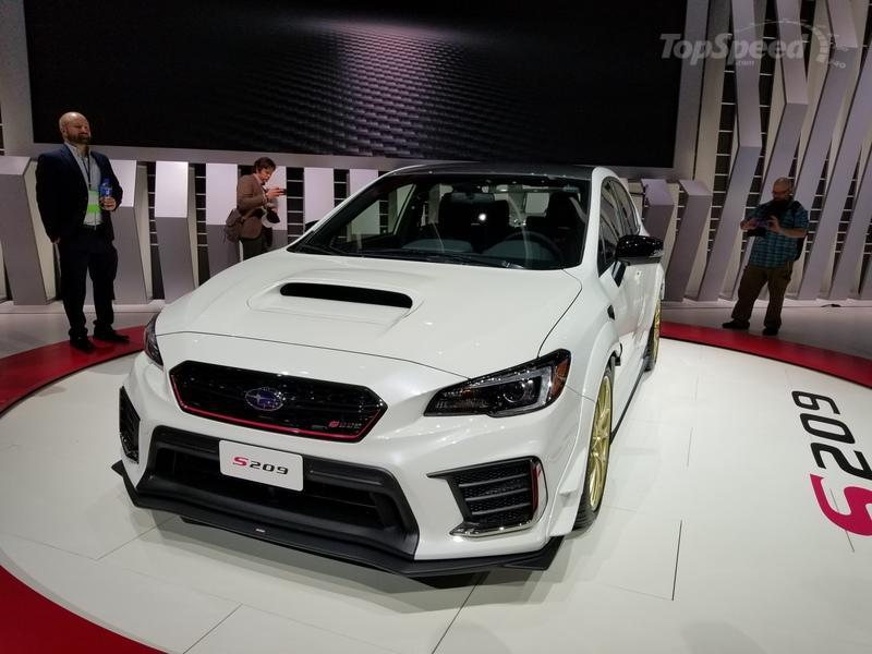 The 2019 WRX STI S209 Is the Best Performance News From Subaru In a Long Time