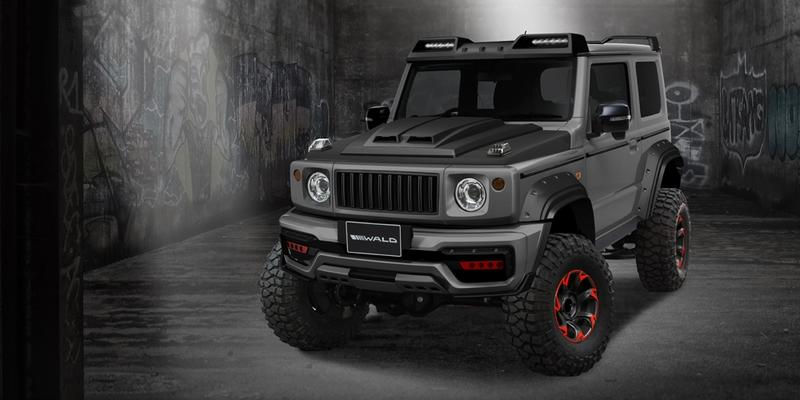 2019 Suzuki Jimny Black Bison Edition by Wald International