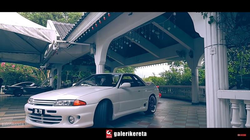 Take a Detailed Video Tour of a Very Rare Nissan Skyline R32 HKS Zero-R