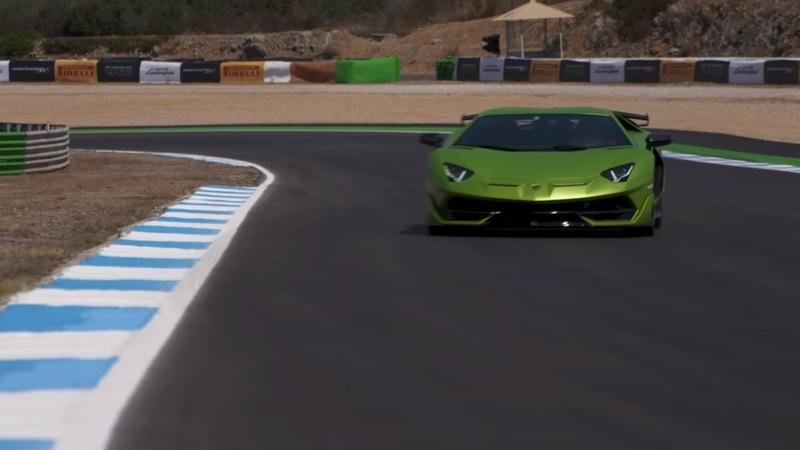 Take a Ride in the 2019 Lamborghini Aventador SVJ: Video