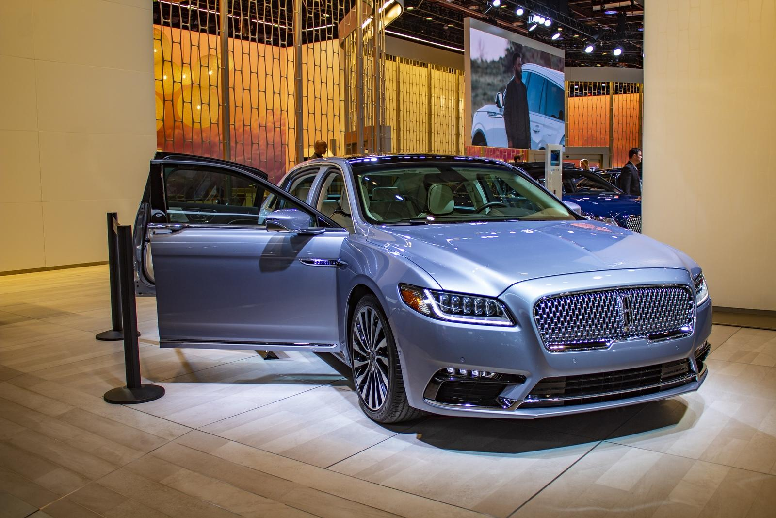 The 2019 Lincoln Continental Coach Door Edition Has Sold ...