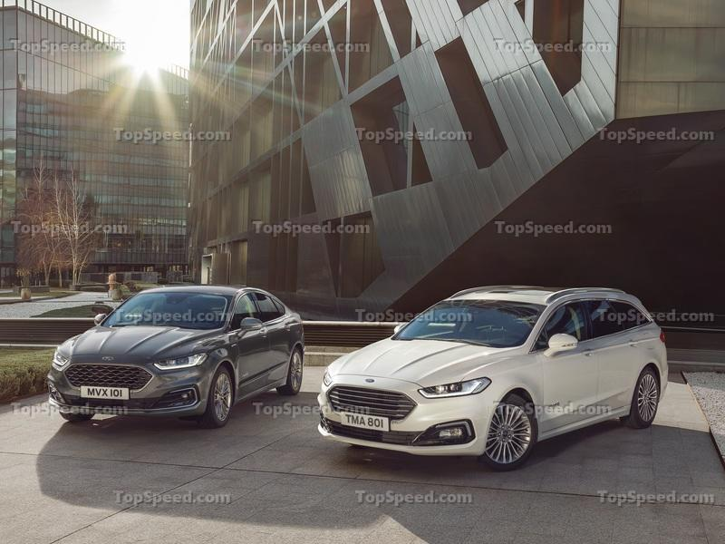 The 2019 Ford Mondeo Has Arrived In Belgium and it Brought Along a New First For the Blue Oval