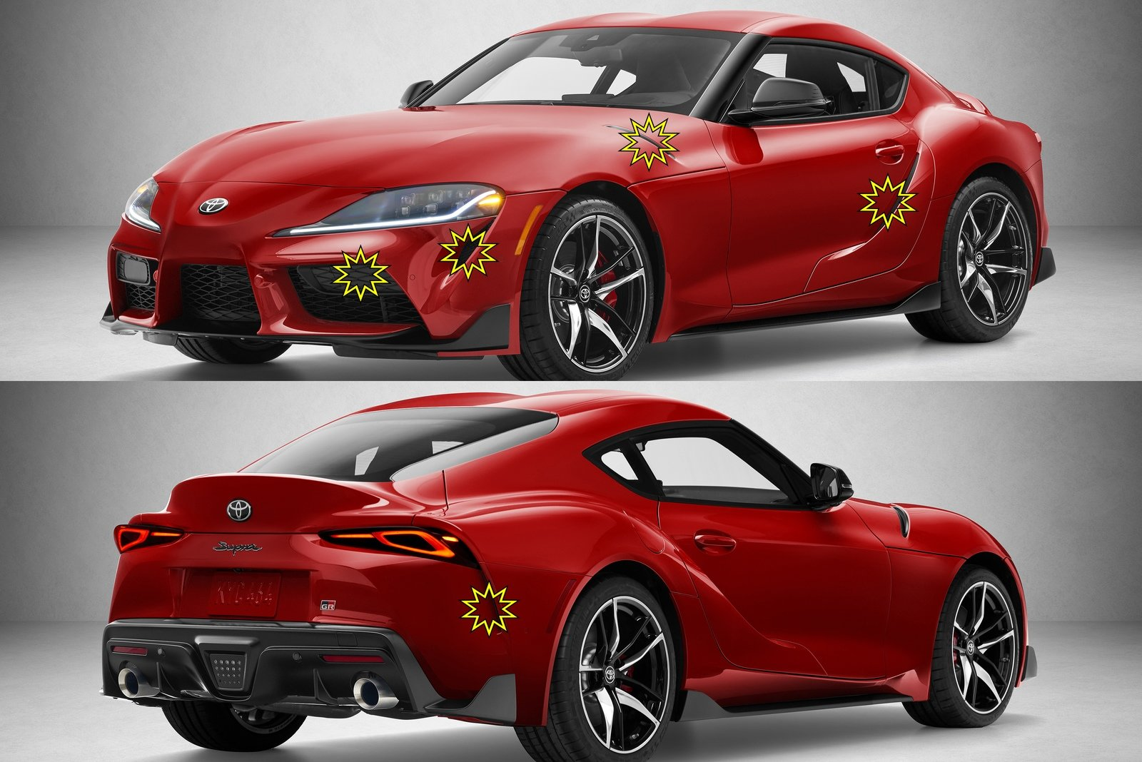 The 2020 Toyota Supra Has So Many Fake Vents That It Hurts ...