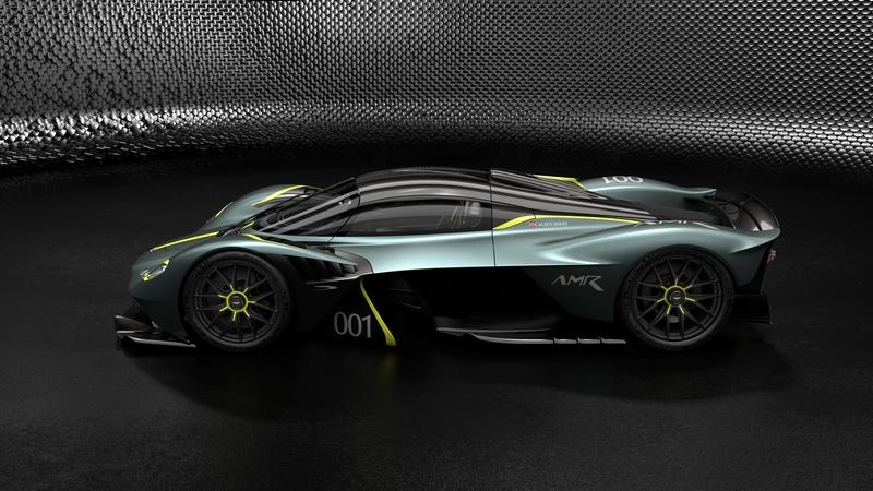 The AMR Track Performance Pack for the Aston Martin Valkyrie Rides the Line Between Crazy and Insane