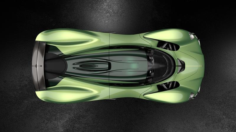 The AMR Track Performance Pack for the Aston Martin Valkyrie Rides the Line Between Crazy and Insane - image 817490