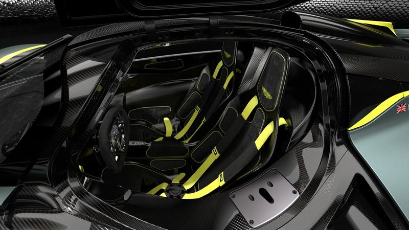The AMR Track Performance Pack for the Aston Martin Valkyrie Rides the Line Between Crazy and Insane - image 817470
