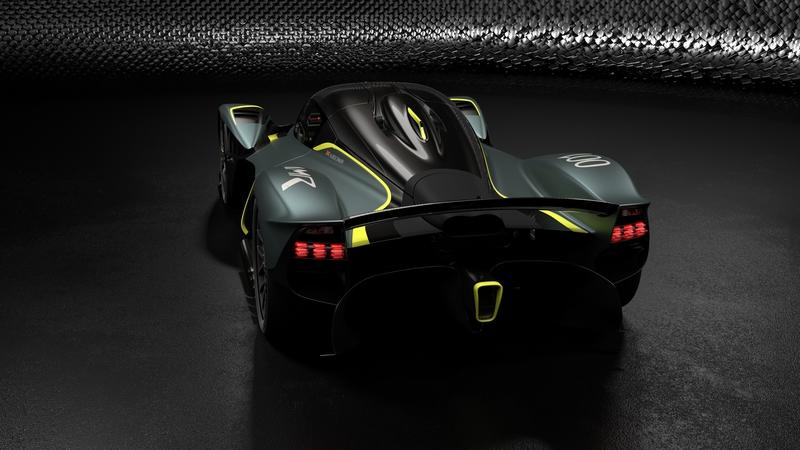 The AMR Track Performance Pack for the Aston Martin Valkyrie Rides the Line Between Crazy and Insane - image 817472