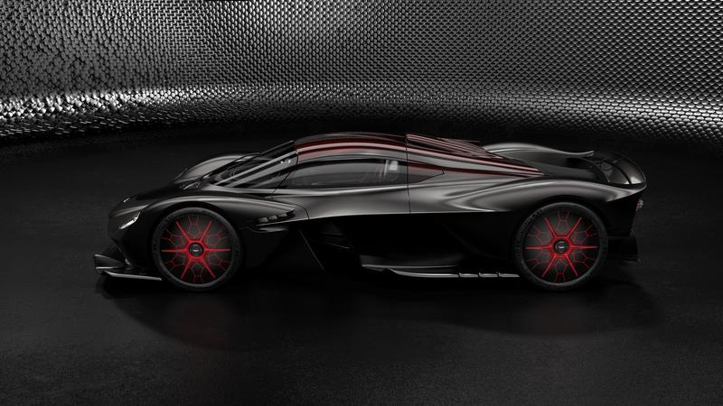 The AMR Track Performance Pack for the Aston Martin Valkyrie Rides the Line Between Crazy and Insane - image 817476
