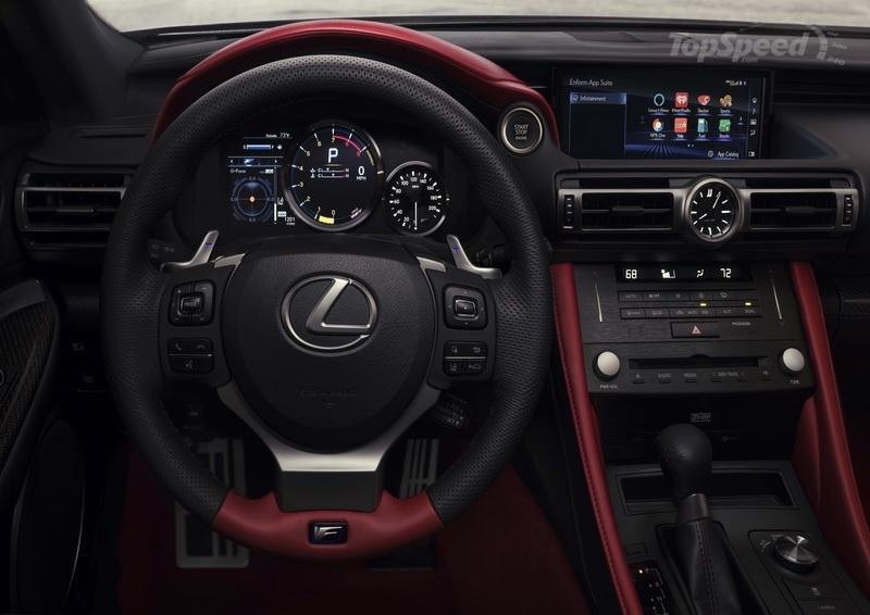 2020 Lexus Rc F Track Edition Top Speed