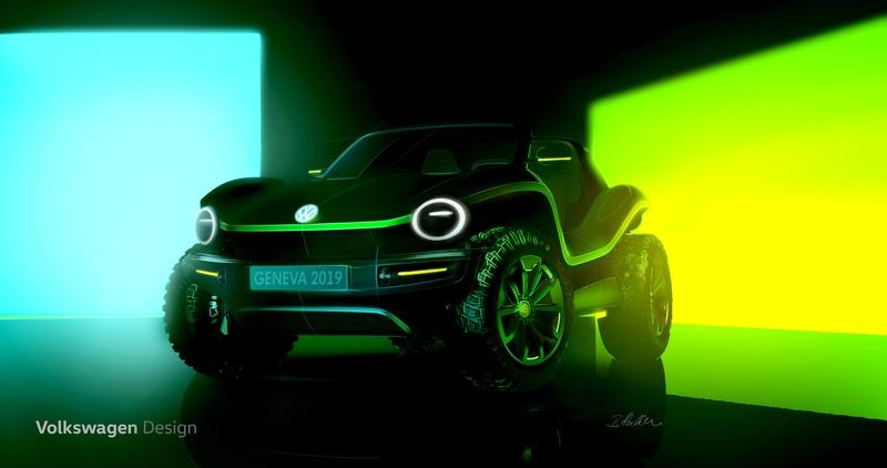 The Rumors Were True! Volkswagen Really is Making a New Beach Buggy, and It Comes to Geneva