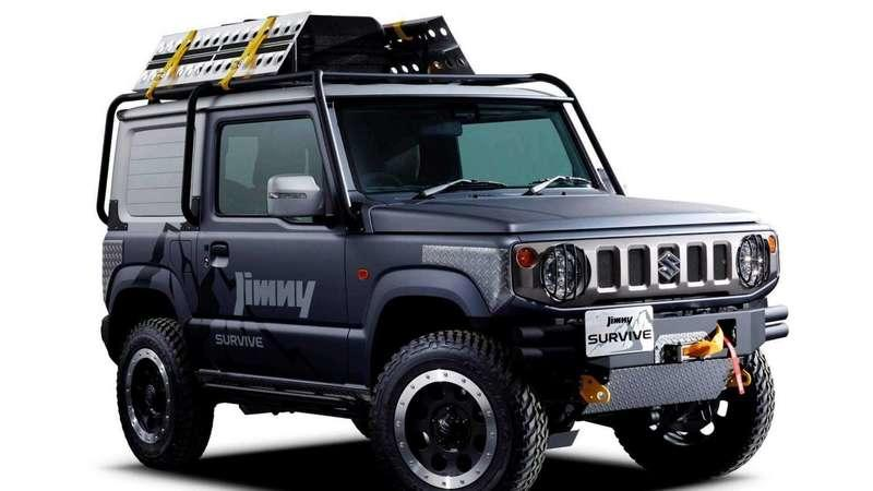 The Suzuki Jimny Survive Is Japan's take on the Jeep Renegade Trailhawk
