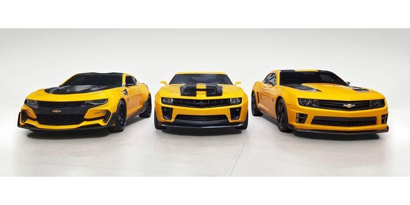 The Transformers Bumblebee Camaros Are Going Up for Auction, But There's a Catch