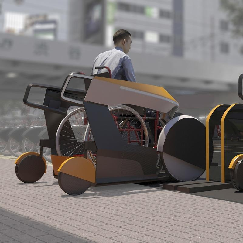 These Futuristic Wheelchair and Exoskeleton Concepts Are The Fruits of Toyota's Unlimited Mobility Challenge