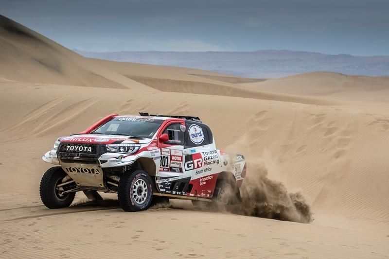 Toyota Wins Dakar For The First Time as Mini and Peugeot Crumble