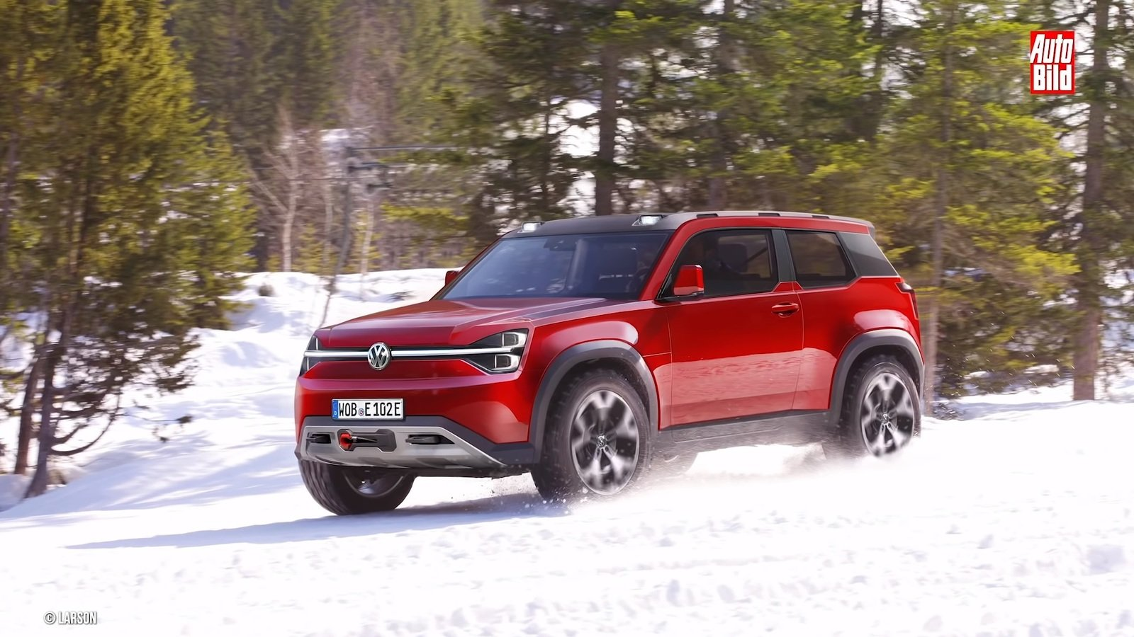 Volkswagen S Cooking Up A Challenger For The Land Rover