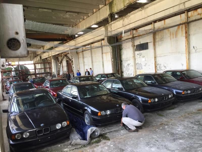Warehouse Find: 11 1994 BMW 5-Series E34s with Zero Miles