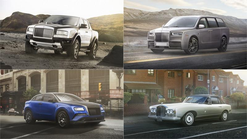 What if Rolls-Royce Had a Car in Every Conceivable Segment?