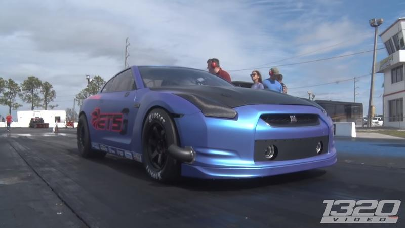 1320 Video Features the 3,000-Horsepower ETS-G Nissan GT-R: Video