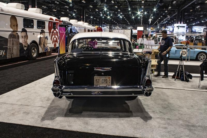 1957 Chevrolet Model 150 Squad Car Stole The Show In Chicago