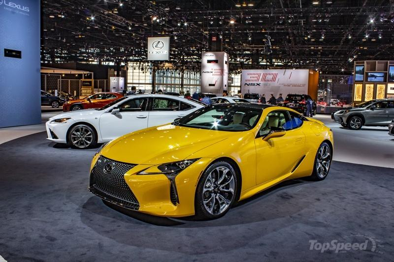 2019 Lexus LC 500 Inspiration Series
