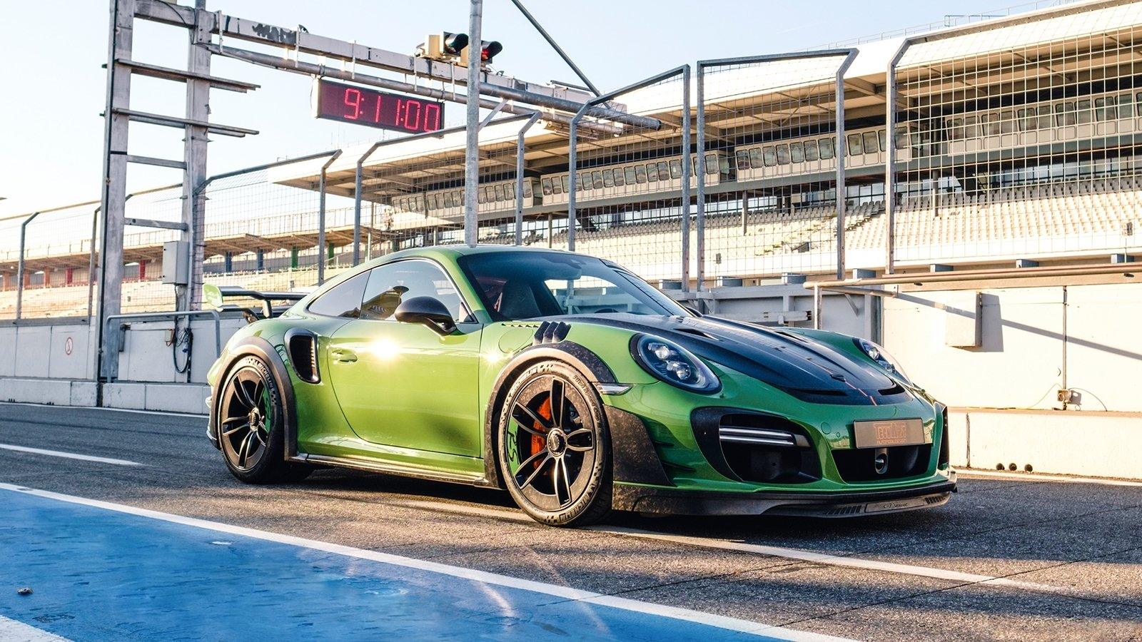 2019 porsche 911 turbo s gtstreet rs by techart top speed. Black Bedroom Furniture Sets. Home Design Ideas