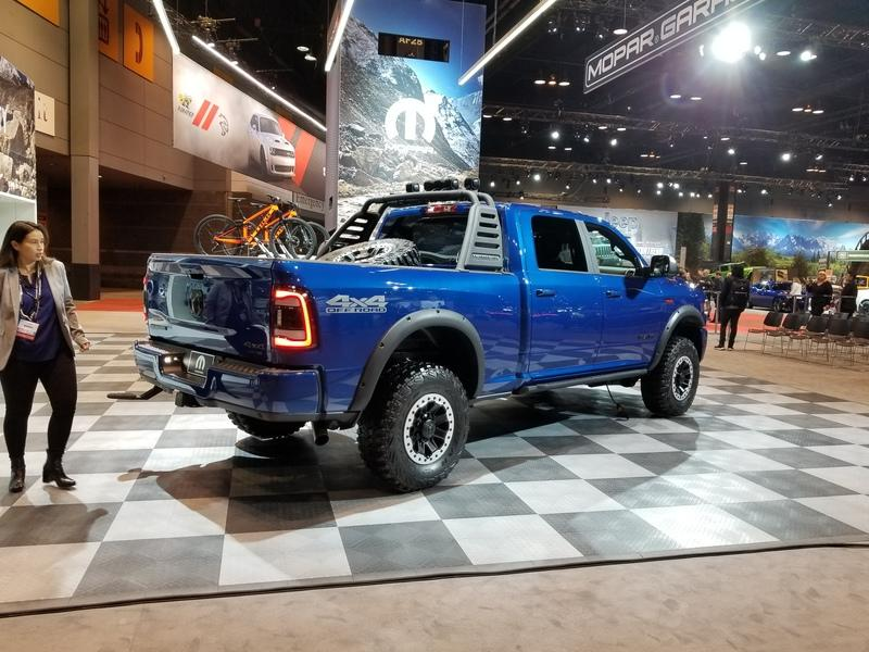 The Mopar-modified 2019 Ram 2500 Heavy Duty Has Everything That You Can Ask For In A Truck