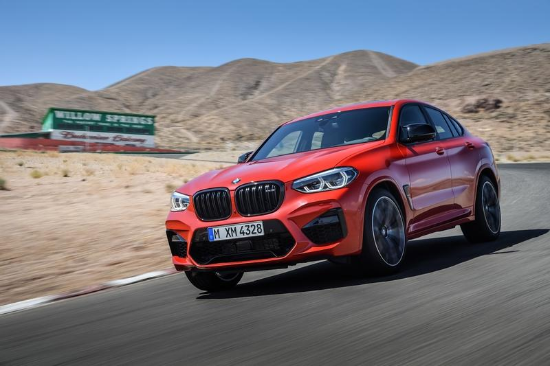 "BMW X3 and X4 M ""Competition"" name is a bit silly for an SUV"